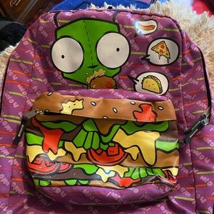 Hot Topic Exclusive Invader Zim Gir Backpack